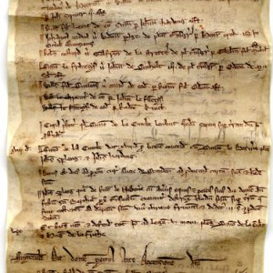 The oldest known complete manorial court roll in existence: including Bledlow, Buckinghamshire; Swincombe, Oxfordshire; Tooting, Surrey; and Ruislip, Middlesex, 1246. (BEC/01)