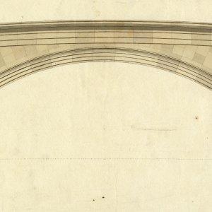 Wilkins' drawings of the new bridge. (KCD/391)