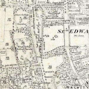 Ordnance Survey map, 1888 [CAM/191]