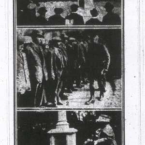'A Village's Tribute to Its Dead.', Cambridge Chronicle, 6 April 1921. Printed from microfilm held at Cambridgeshire Collection at Cambridge Central Library (scanned and contrast altered digitally)