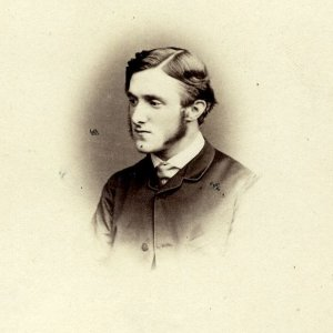 John Edwin Nixon, Dean 1880-80 and 1887-89, taken by London Stereoscopic and Photographic Company, London. (Coll Photo 545/139)