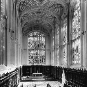 Detmar Blow and Fernand Billerey's reredos, 1949. (Coll Photo 738. Photographer: Royal Commission on Historical Monuments)