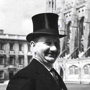Head Porter Albert H. Powell in 1939