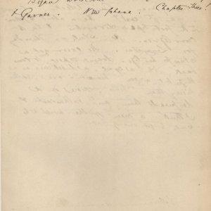 C.R. Ashbee's journal entry on starting work for Bodley and Garner, 19 [October] 1886. [CRA/1/2, f.358]