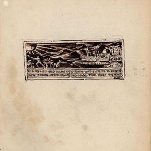 Design for the Guild's letterhead, c. April 1888. [CRA/1/3, f.224]