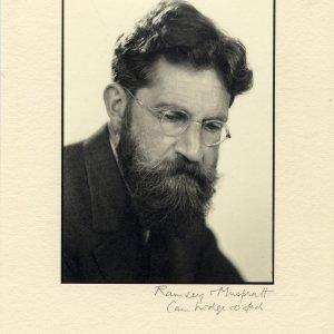 Studio photograph of Hugh Owen Meredith, taken by Ramsey and Muspratt, c.1940 (EFB/4/9)