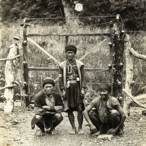Tribespeople of the Kachin Hills, Burma (Leach, 1940-1949; ERL/4/34)