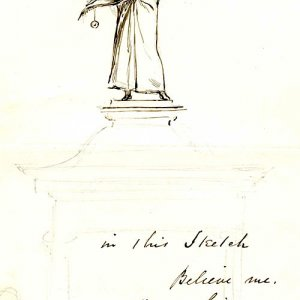 Armstead's model of the statue of Henry VI for the Fountain 1873-79 (FRO/2)