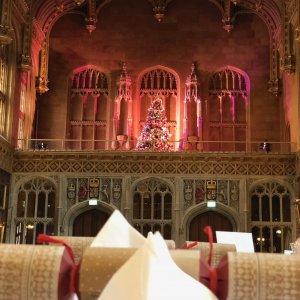 The Hall at Christmas 1