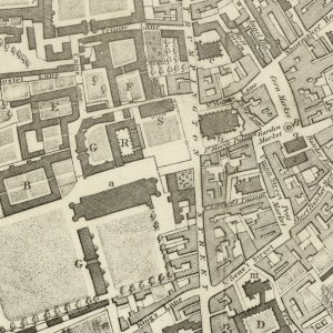 Custance's map, 1798. (JS/4/7)