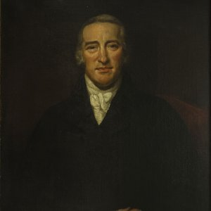 Charles Simeon in 1810 by James Northcote. (Photograph by Adrian Boutel and Elizabeth Savage)