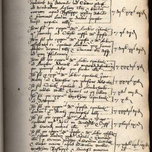 Mundum book 1553-4 custus equitantum