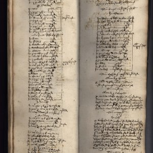 Second page of Commons book for early January 1549/50