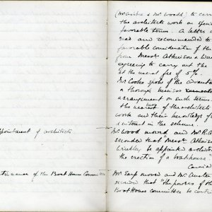 Minutes of the Amalgamation Club's Annual General Meeting,  12 March 1894.  [KCAS/1/1/1, 1894 AGM page 2]