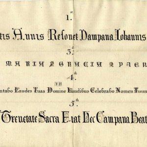 bell inscriptions