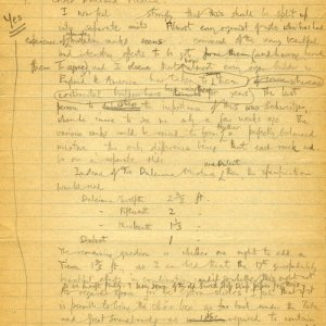 Manuscript comments on Hamilton and Hamilton's specification by Boris Ord, 1932 (KCC/606)