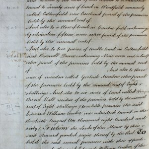 Second page of admission of Edward William Archer. (KER/904)