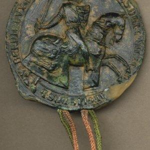 Reverse of Edward I's seal