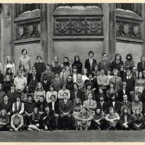 1972 matriculation photo. [KCAC/1/3/6/1/1/2]