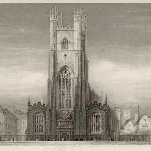 Great St Mary's, the University church. (Cooper's Memorials: Great St Mary vol 3 p.304)