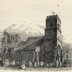 St Edward's church. (Cooper's Memorials: vol 3 p.273)