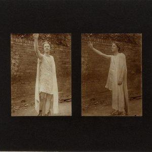 Rupert Brooke as the Attendant Spirit in Comus. [RCB/Ph/54-5]