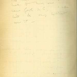 Fourth page of a letter from Rupert Brooke to Edward Marsh, 9 March 1915. Archive Centre, King's College, Cambridge. RCB/S/5/2, 215.