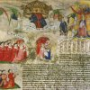 Foundation charter by Henry VI, granting lands and privileges to benefit his College of St. Nicholas and Our Lady at Cambridge, 1446. (KC/18)